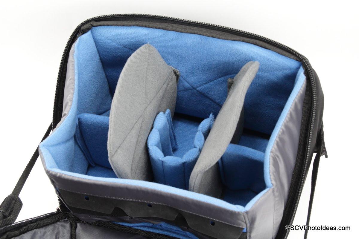 Case Logic DSB-103 main compartment overview