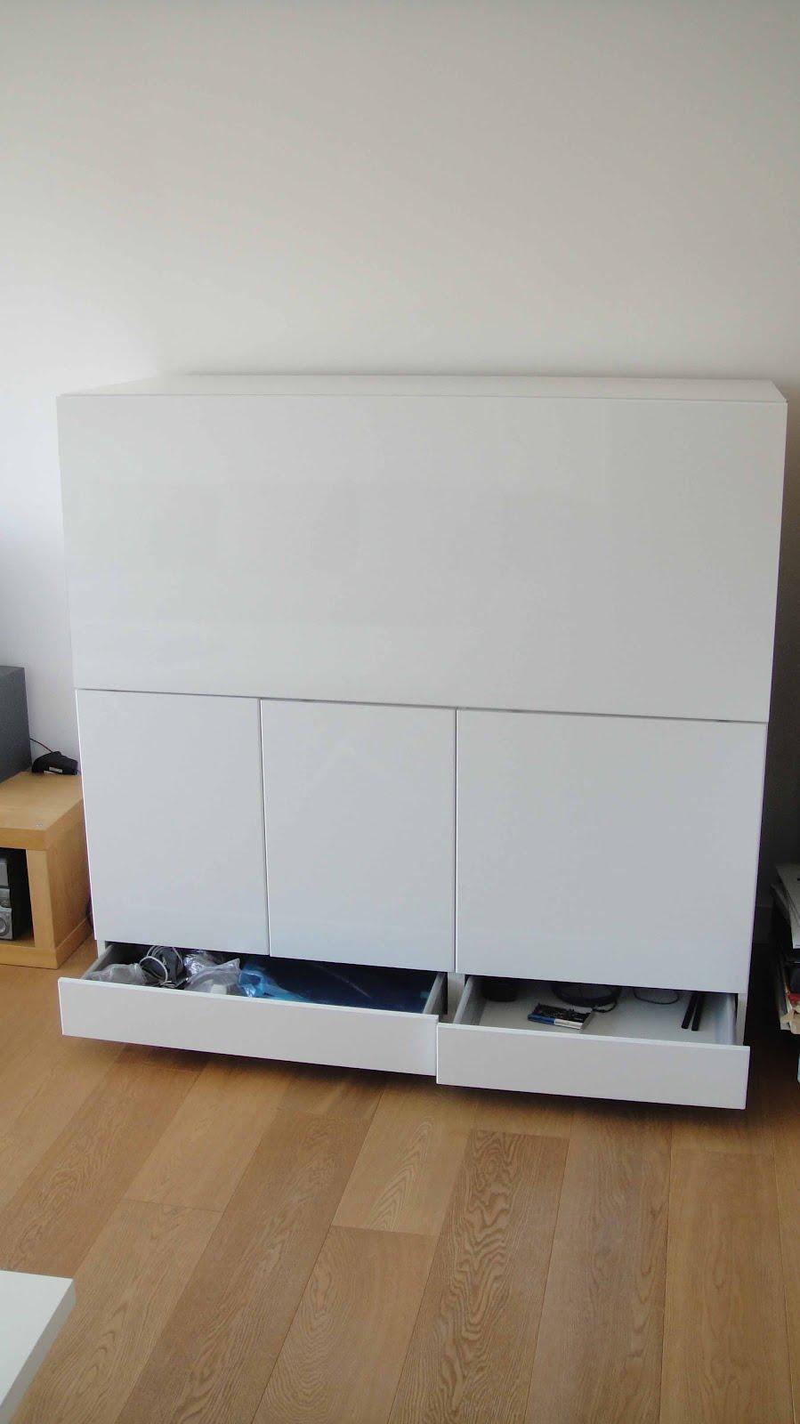 Ikea Hack MuebleEscritorio Besta  x4duroscom