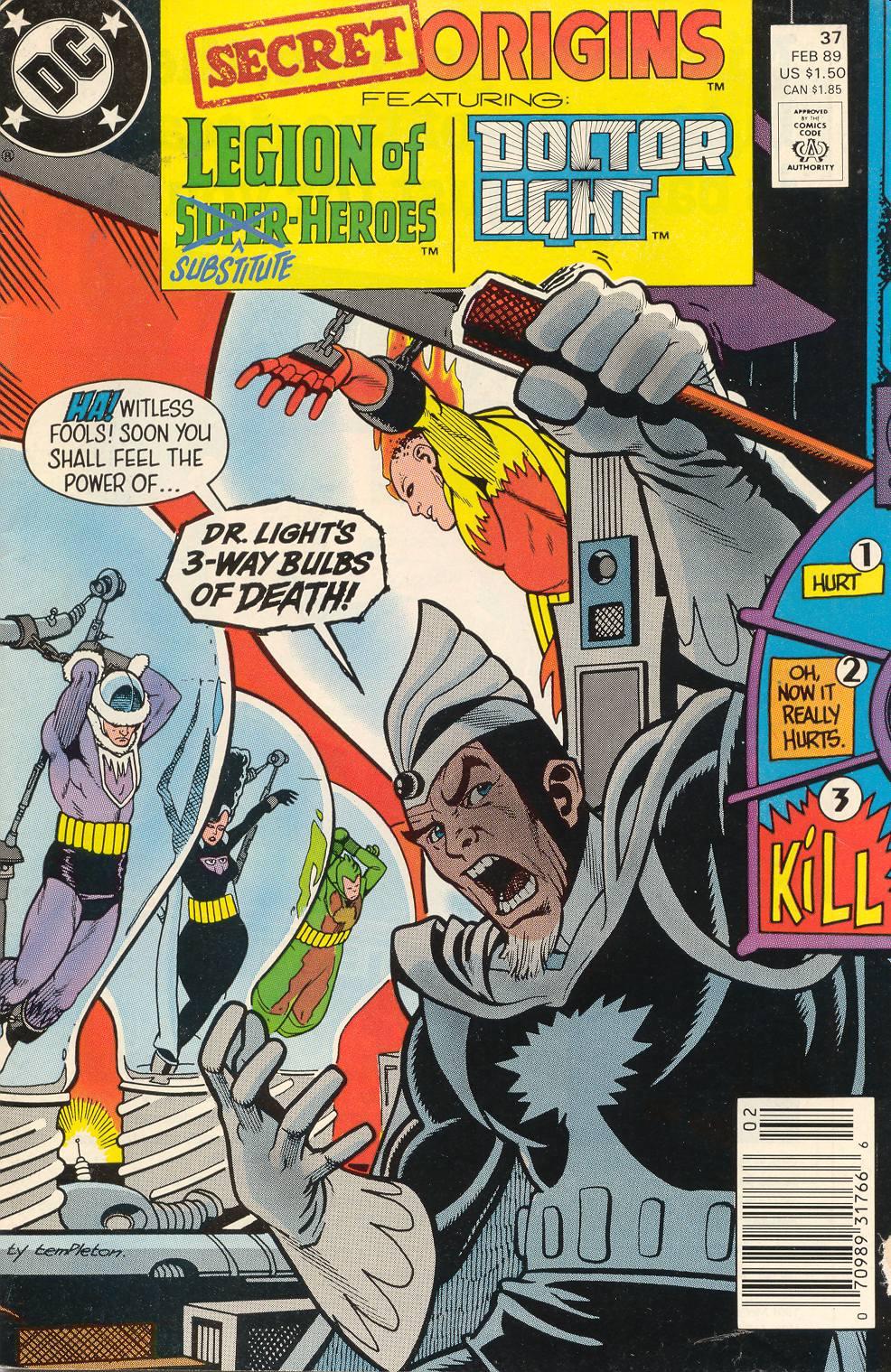 Read online Secret Origins (1986) comic -  Issue #37 - 1