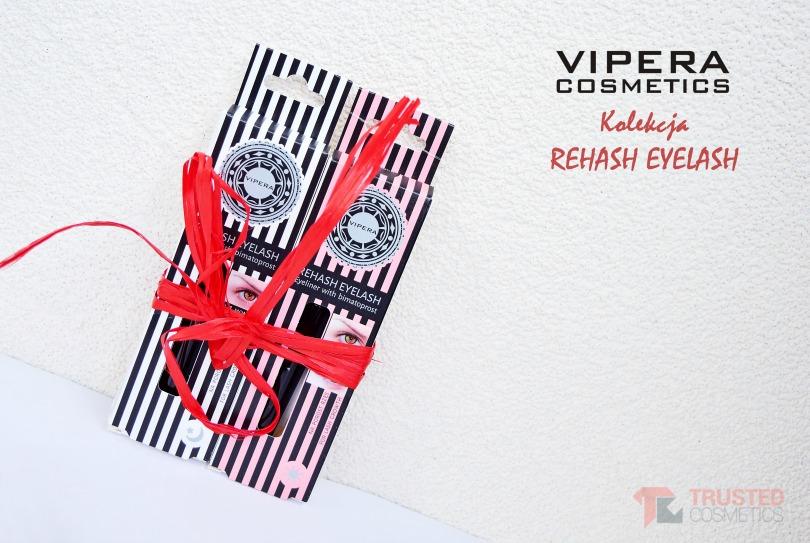KOLEKCJA REHASH EYELASH OD VIPERA COSMETICS - SERUM I EYELINER / PIĘKNE I KUSZĄCE RZĘSY
