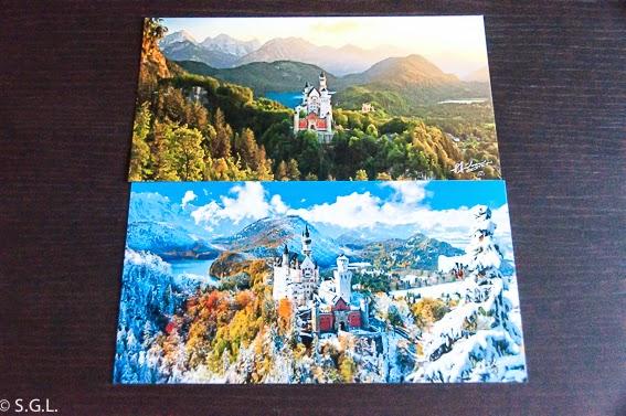 Fotos de postales del castillo del rey loco