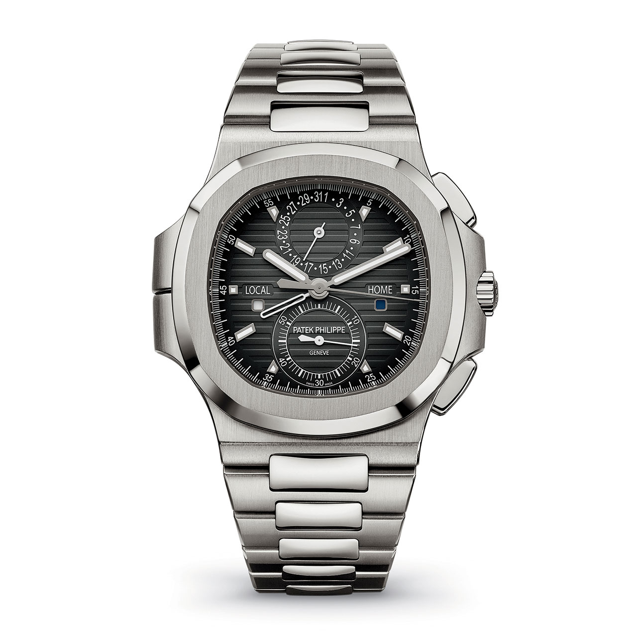 Patek Philippe Nautilus Travel Time Chronograph Réf. 5990/1A-001 Automatic Watch