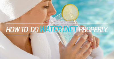 Cara Diet Alami dan Cepat Dengan Metode Air Putih