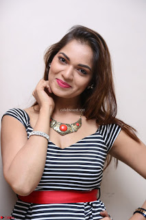 Ashwini in Spicy Short Deep Neck Dress at Pelliki Mundu Prema Katha Trailer Launch Exclusive  20.JPG