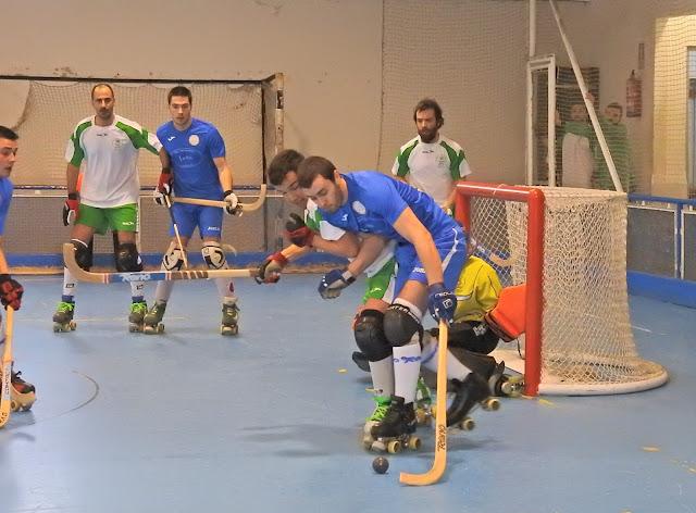 Hockey Patines | El Gurutzeta gana al RS Tenis de Santander tras una buena segunda parte