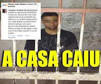 [VÍDEO] ZOMBOU A MORTE DE POLICIAL E A CASA CAIU