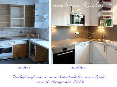 Küche renovieren, Küche, Fronten, Arbeitsplatten, Rückwand, Neuer Glanz für ihre alte Küche - diese hier war über 20 Jahre alt und sieht nach der Küchenmodernisierung aus wie neu.
