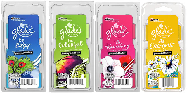 Glade Scented Wax Melts - Spring 2016 Scents
