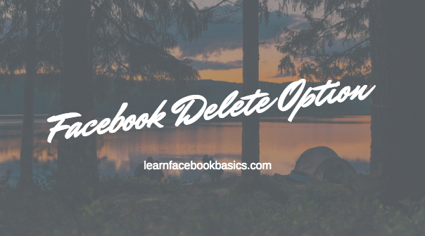Delete Facebook Account Right Now | Facebook Delete Option
