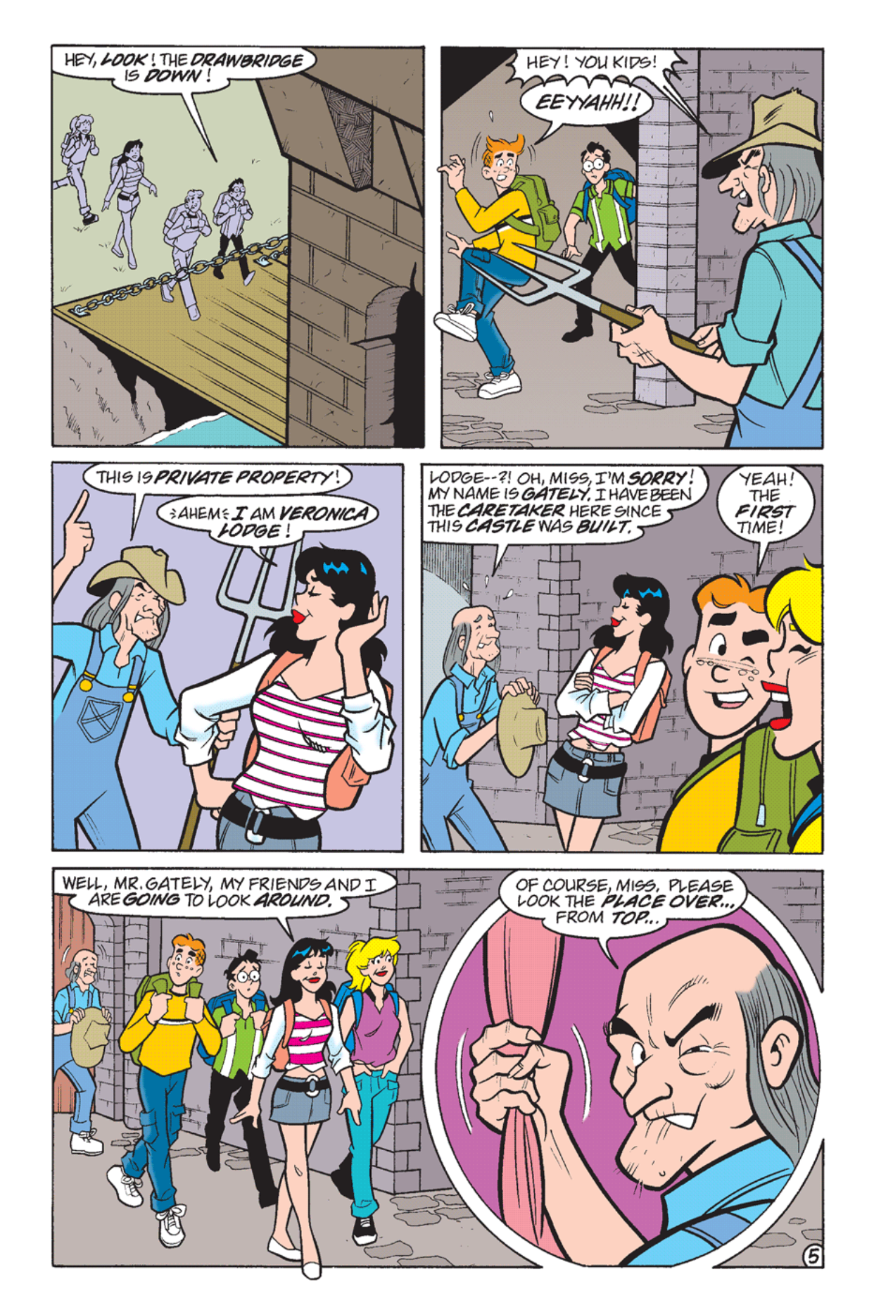 Read online Archie's Weird Mysteries comic -  Issue #24 - 6