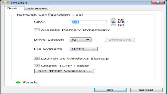 RAMDisk screenshot 3