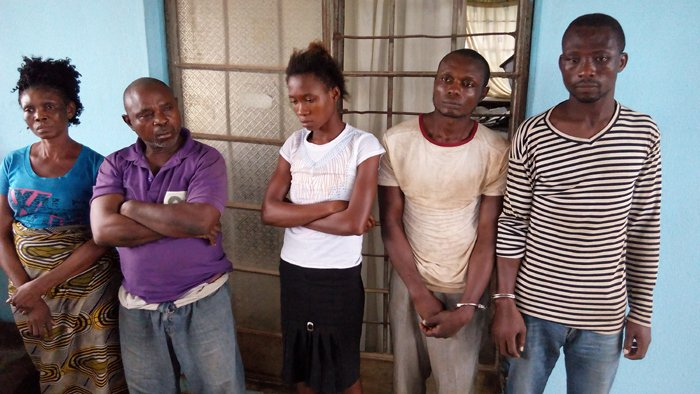 kidnappers arrested abia state