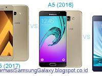 Perbandingan Galaxy A5 (2017) vs Galaxy A5 (2016) vs Galaxy A5