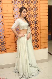 Raashi Khanan looks stunning in Crop Top Deep neck Choli Ghagra Transparent Chunni WOW ~  Exclusive Celebrities Galleries 045.JPG