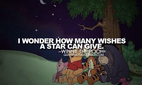 Dan Dari Satu Bintang Yang Tersisa Akan Aku Gunakan Untuk Berharap Mendapatkan  Bintang Lagi Yang Akan Aku Gunakan Untuk Memohon Agar Kita Bisa Hidup