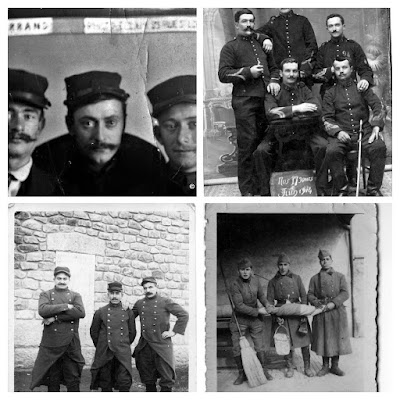 album photos anciennes noir et blanc : Militaria.