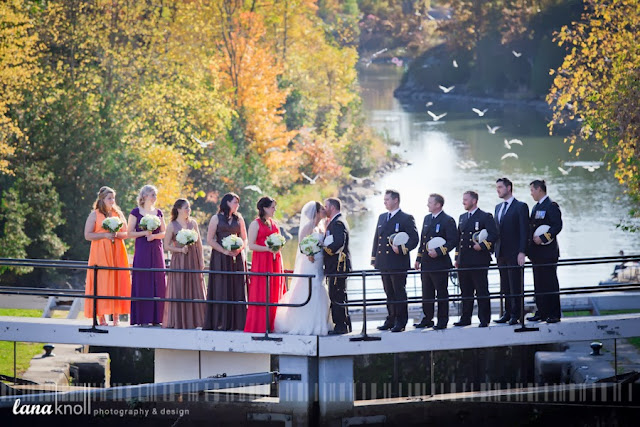 kingston wedding photography bridal party