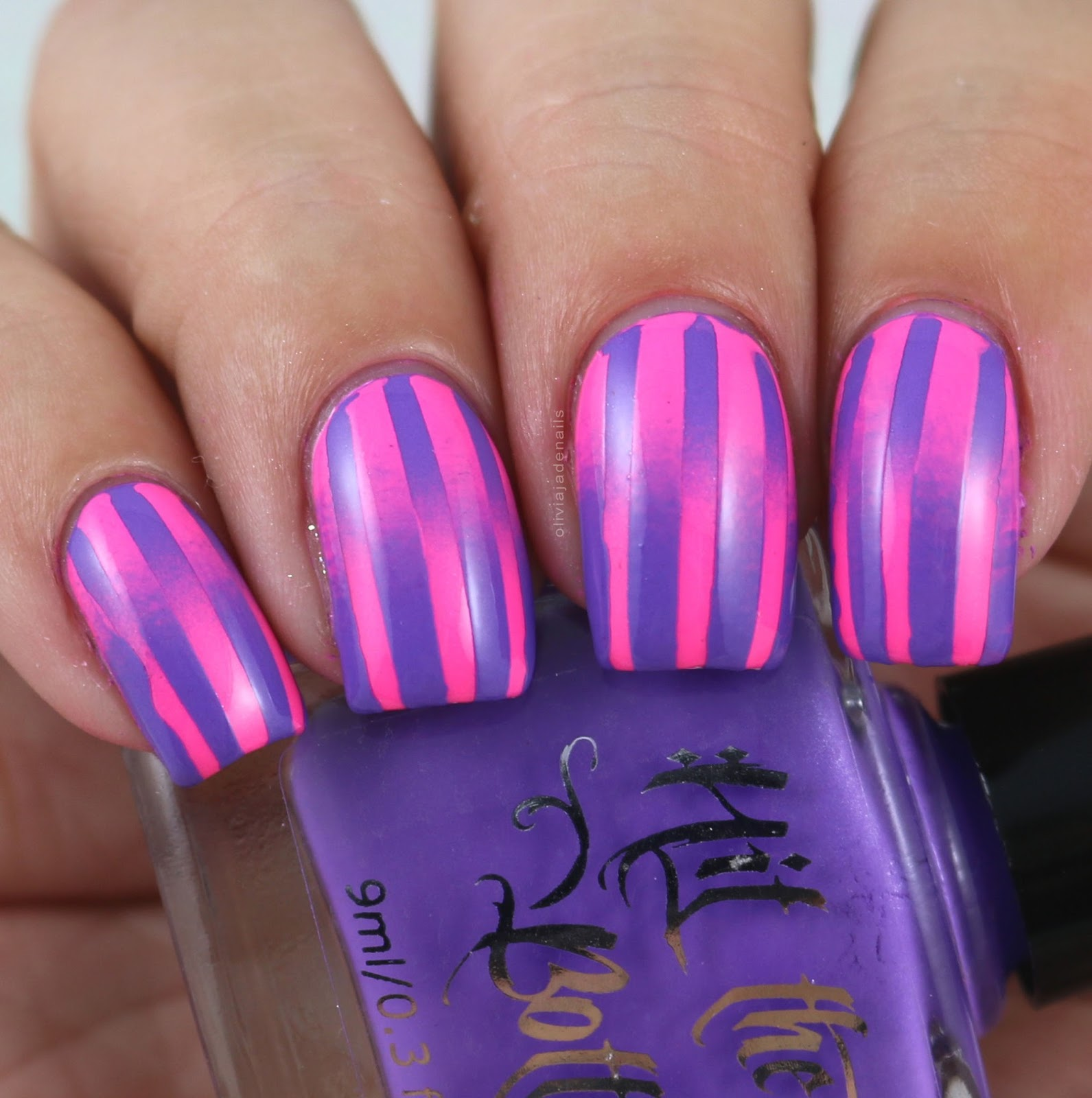 Olivia Jade Nails: 26 Great Nail Art Ideas: Reciprocal Gradients