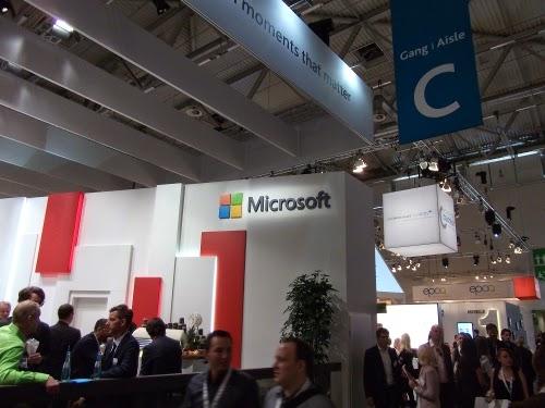 dmexco 2014: Der Microsoft-Stand.
