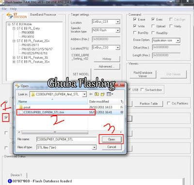 Tutorial Cara Flash Samsung Champ C3303i Via Flash Loader