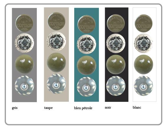 bouton de meuble, bouton de placard