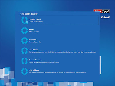 Screenshot Minitool Partition Wizard 10.2.3 Technician Edition (WinPE Boot ISO)