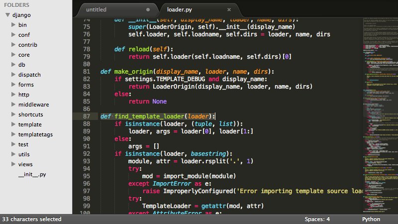 Sublime Text - Software programming keren
