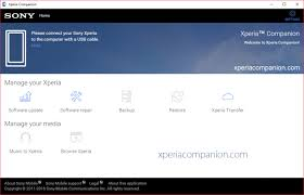 Xperia Companion Latest version For Windows and Mac Free Download
