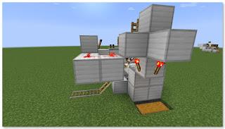 Minecraft トロッコ輸送 積み込み駅 作り方③