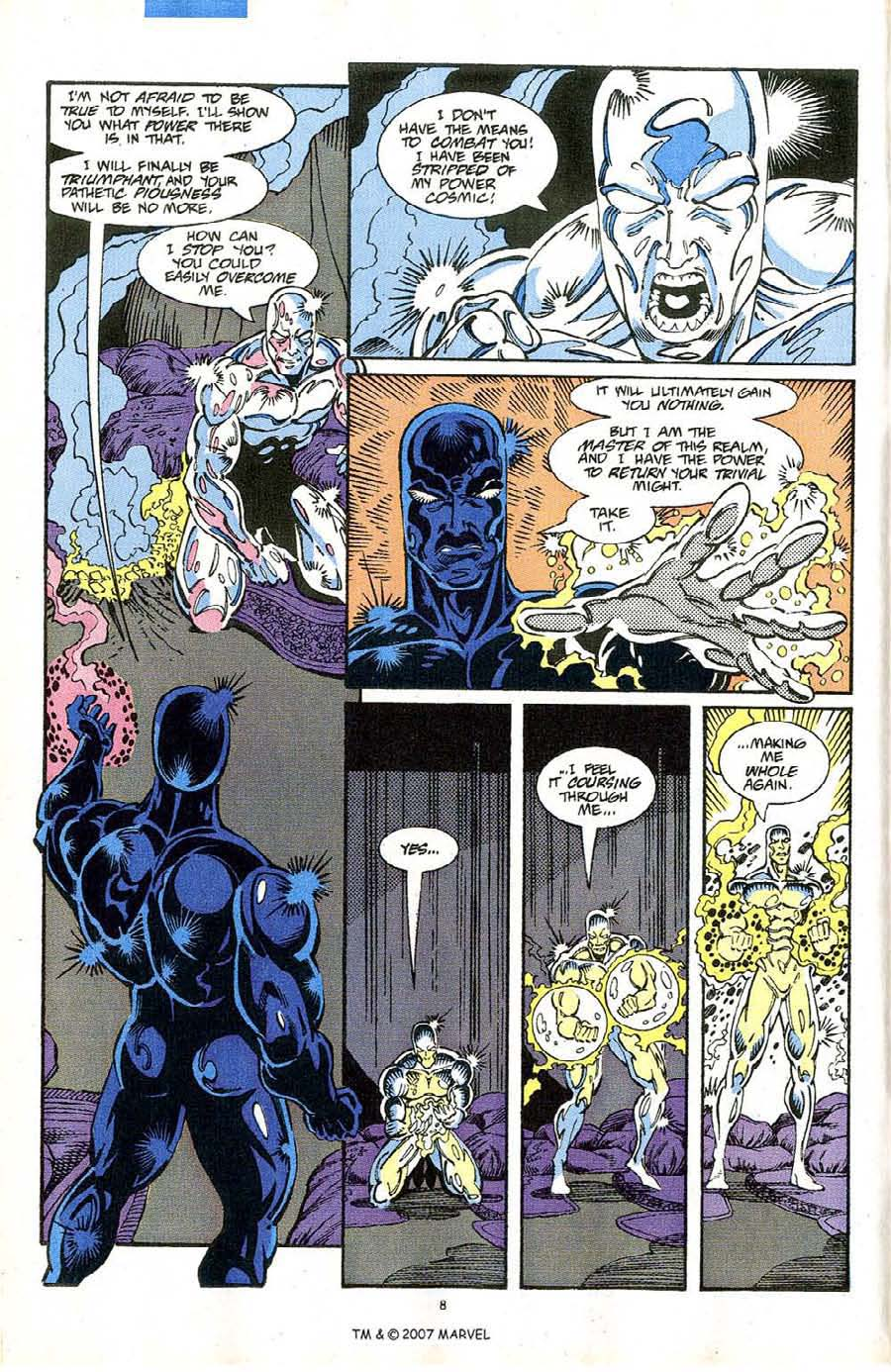 Read online Silver Surfer (1987) comic -  Issue #64 - 10