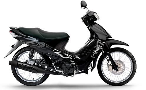 Suzuki BEST 125: Negra