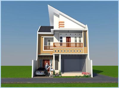 lt2-12 : rumah butik minimalis 2 lantai kota kediri | jasa