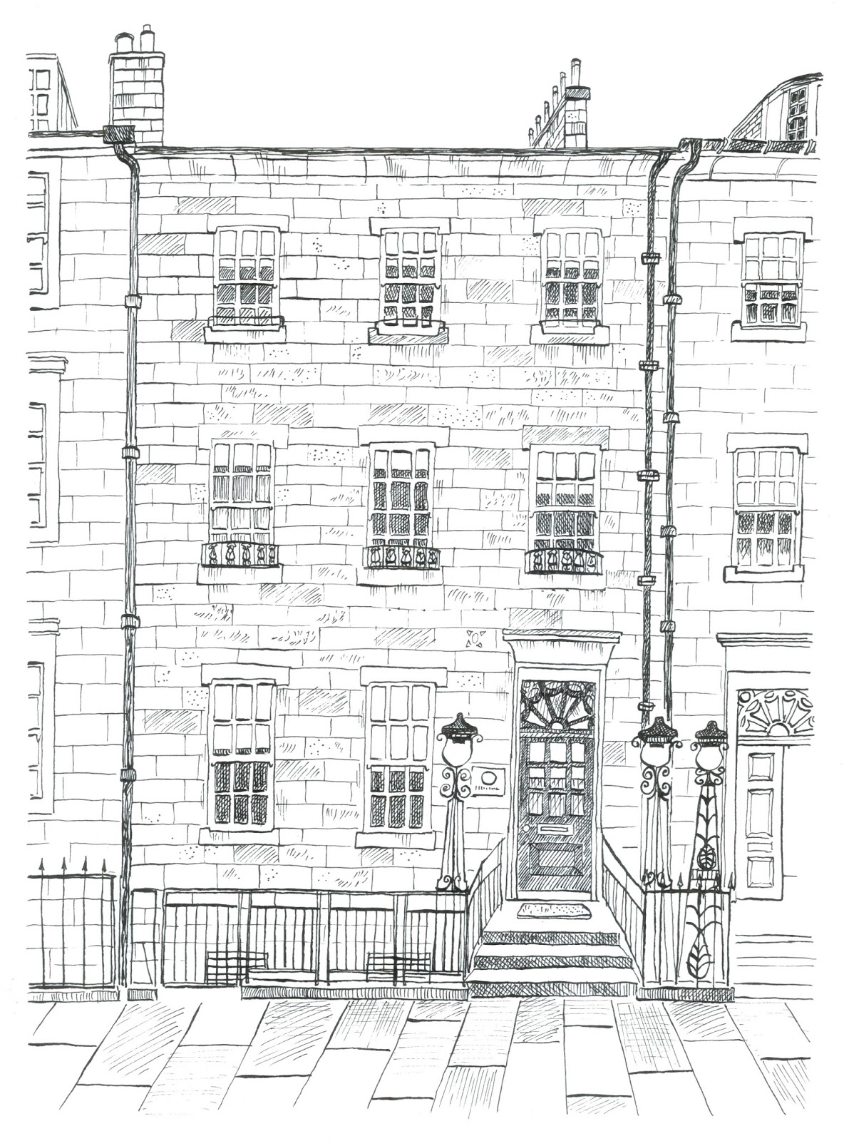 Catherine aldred illustrator recent commission for the for Home design agency leeds