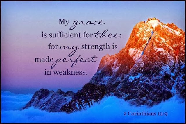 Grace of Jesus for Strength and Perfect