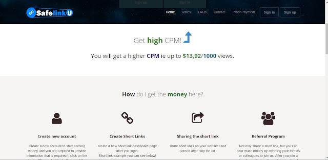 Cara mendapatkan uang dari Pemendek URL