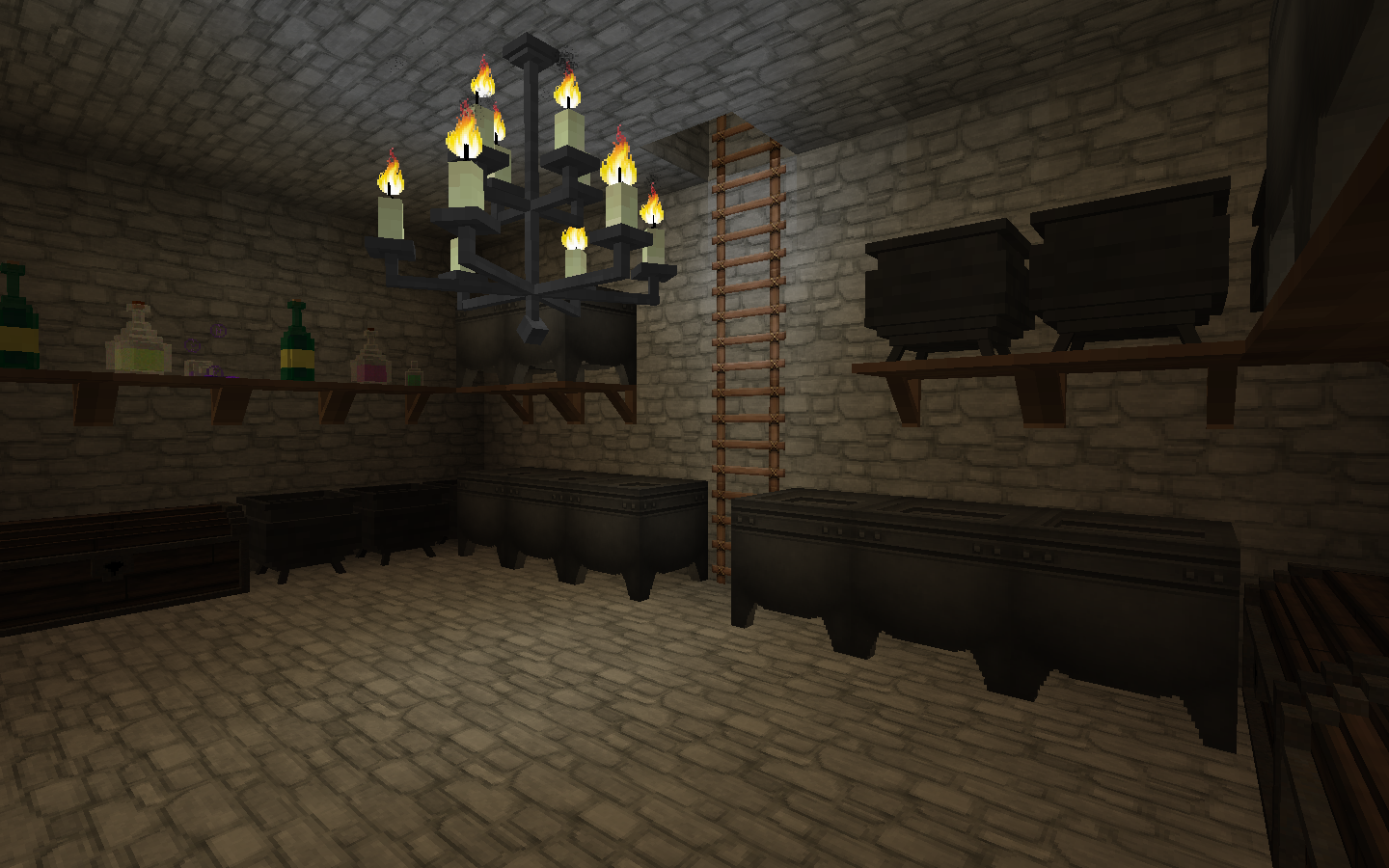 Hogwarts Bedroom Minecrafts Wizarding World Potions Classroom Snapes