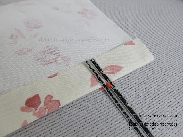 como coser esquinas