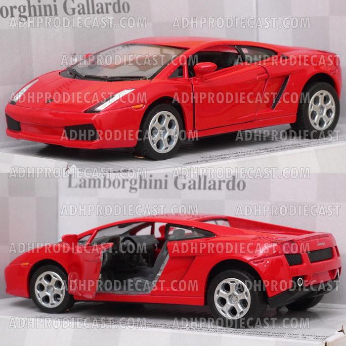 Miniatur Lamborghini Gallardo (Red-32K)