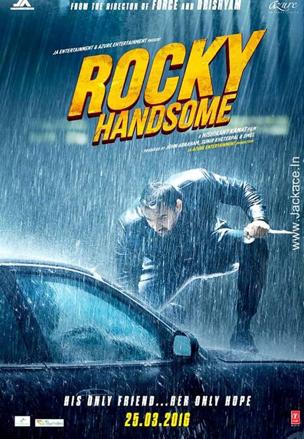 Rocky Handsome (2016) DVDRip 480p Download 300MB