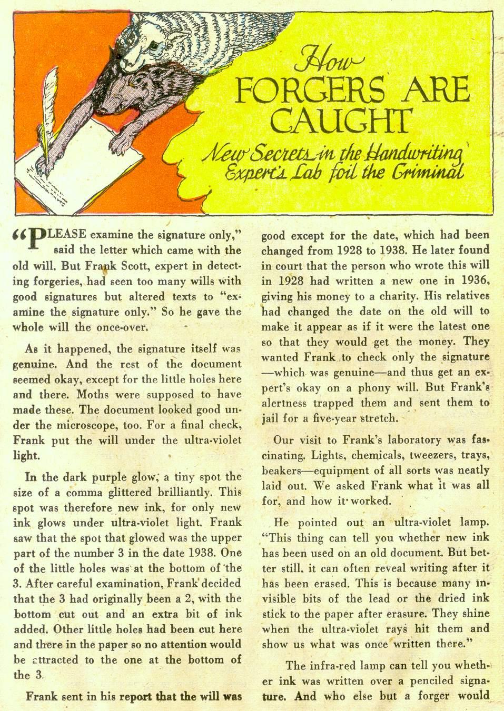 Read online Detective Comics (1937) comic -  Issue #181 - 31