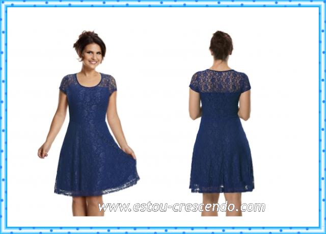 vestido coleção Aline Barros