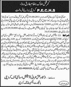 Commercial Plots in Karachi Advertisment in Jang Newspaper