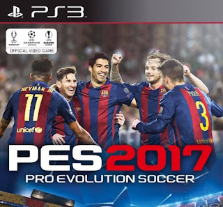 PES 2017 PS3 Option File
