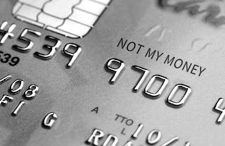 Not My Money Card