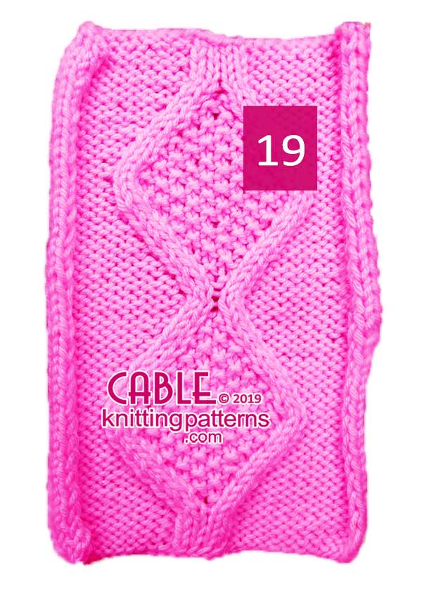 Cable Knitting Pattern 19