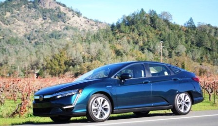 2018 Honda Clarity Phev First Drive