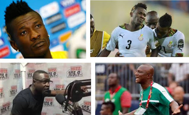 Asamoah Gyan fires Fireman Songo for labelling Black Stars players as fools