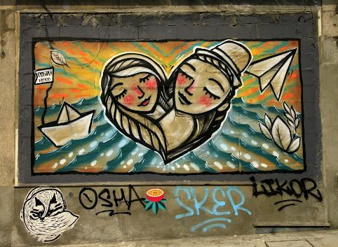 Porto sprayem malowane