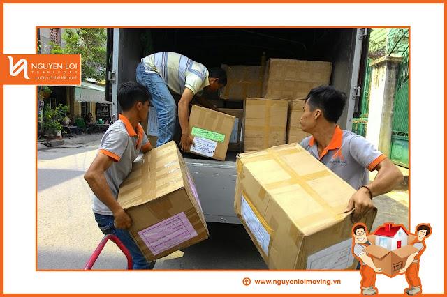 Cho thuê xe tải chuyển nhà tại TPHCM