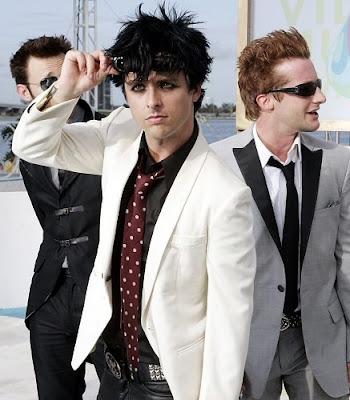Foto de Green Day posando